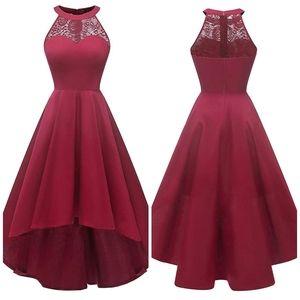 Nwot Vintage High Low Dress
